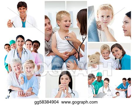 Collage of medical situations