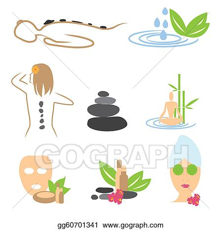 Spa Clip Art Black And White Images & Pictures - Becuo