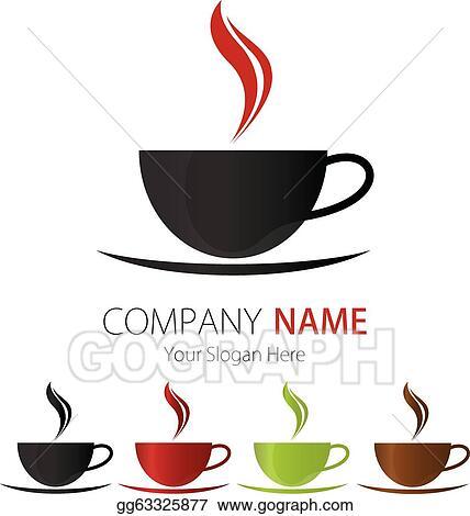 Vector Stock - Company logo design coffee cup. Clipart ...