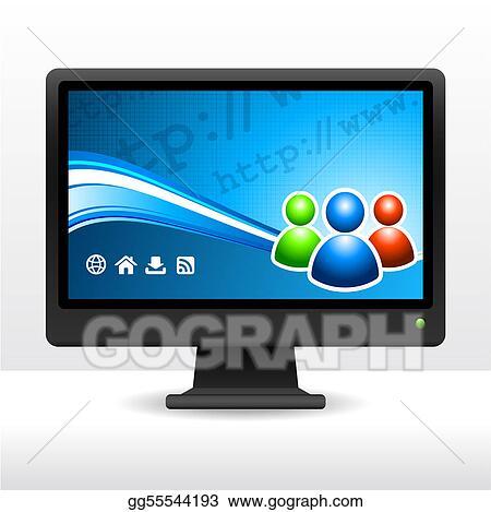 Computer Desktop Monitor