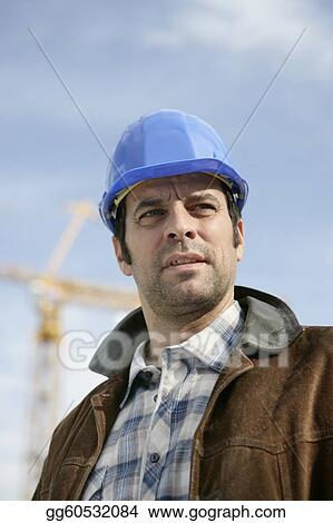 Construction site foreman