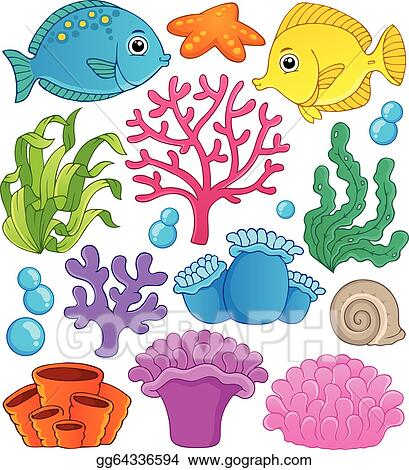 Clip Art Coral Reef Clipart coral reef clip art royalty free gograph theme collection 1