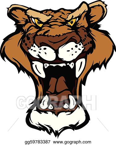 Cougar Clip Art - Royalty Free - GoGraph