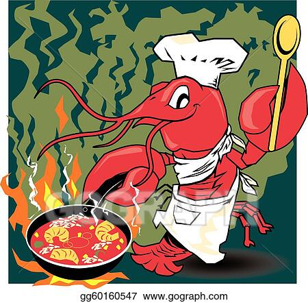 Crawfish Clip Art - Royalty Free - GoGraph