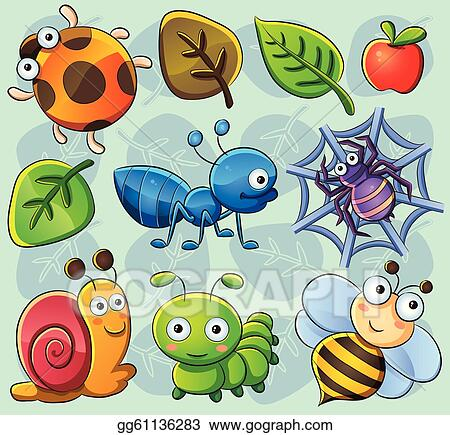 Cute insect drawing - photo#15