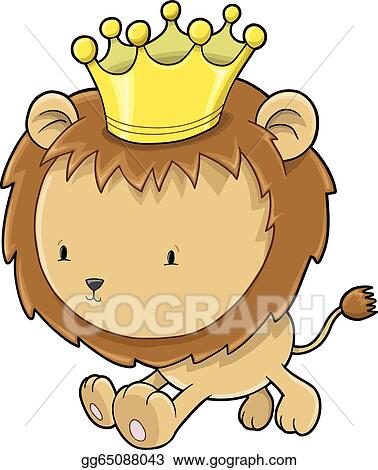 Lion Cub Clip Art - Royalty Free - GoGraph