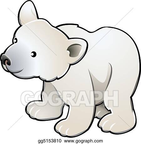 Cute polar bear drawings - photo#24