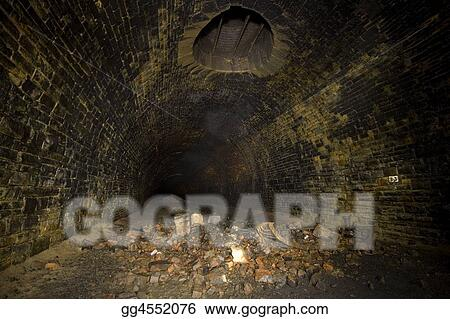 Dark Tunnel ventilation shaft