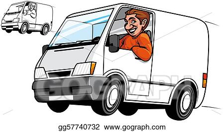 delivery driver clip art - photo #16