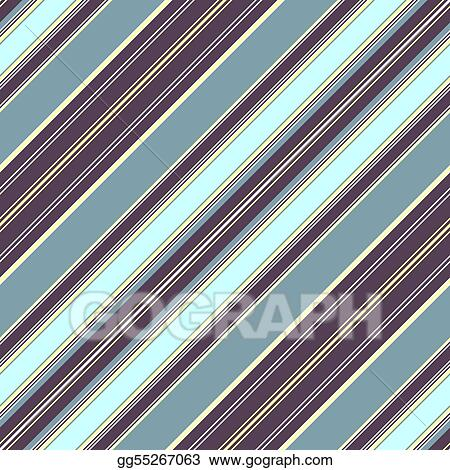 Diagonal striped pattern