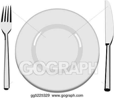 Plate Clip Art - Royalty Free - GoGraph
