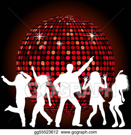 Disco Stock Illustrations - Royalty Free - GoGraph