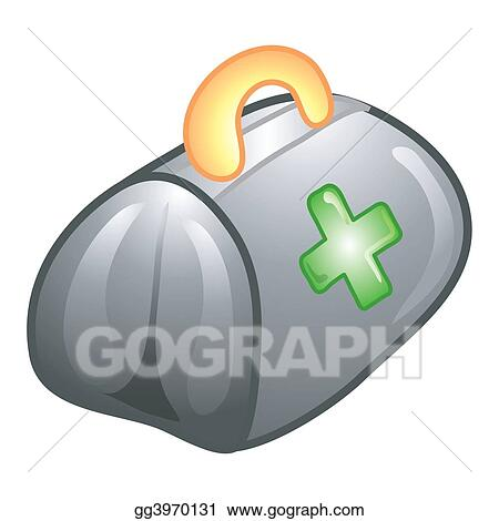 Stock Illustration - Doctor's bag icon. Clipart gg3970131 ...