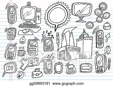 Doodle Electronics Business set