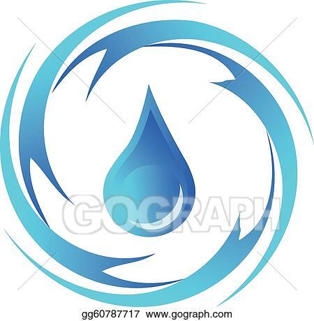 Water Drop Clip Art - Royalty Free - GoGraph