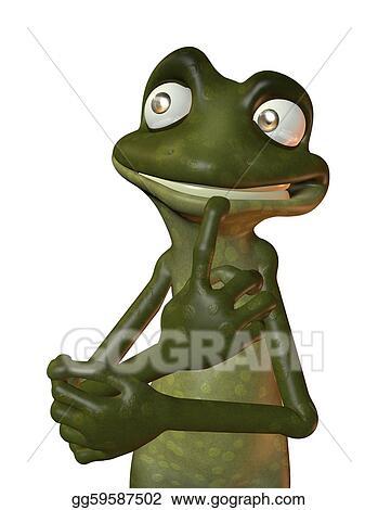 Eco Frog Thinking