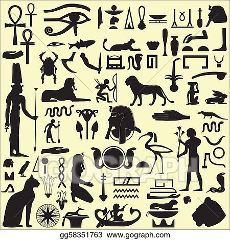 Egyptian Symbols and Signs SET 1