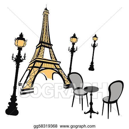 La tour eiffel eiffel tower clip art at vector clip image 1 - Gallery For Gt Eiffel Tower Silhouette Clip Art