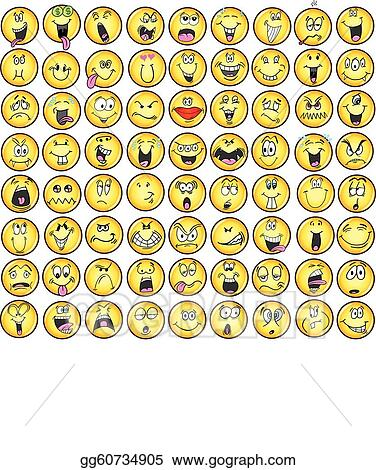 Emotions Clip Art - Royalty Free - GoGraph