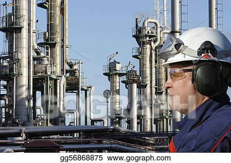 engineer and oil industry