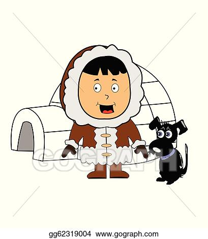 Clip Art Eskimo Clipart eskimo clip art royalty free gograph with igloo