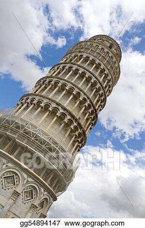Falling tower of Pisa