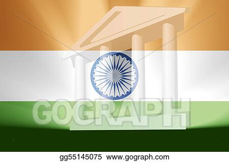 Flag of India government
