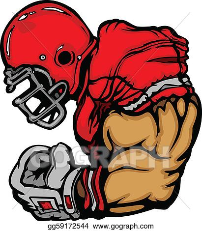 Football Clip Art - Royalty Free - GoGraph