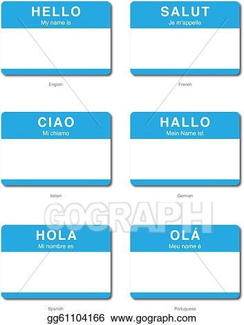 how to say hello my name is in italian
