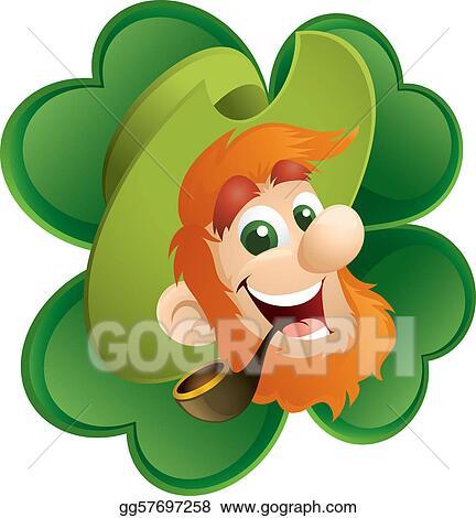 4 clovers and leprechaun pictures leprechaun clip
