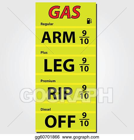 Gas Prices Illustration