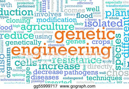 Stock Illustration - Genetic engineering. Clipart Drawing ...