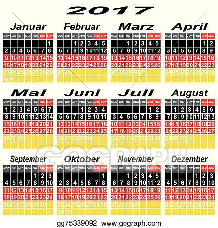 EPS Illustration - Calendar