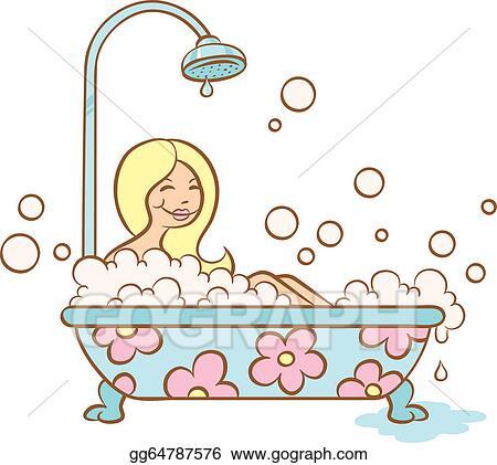 Bubble Bath Drawing