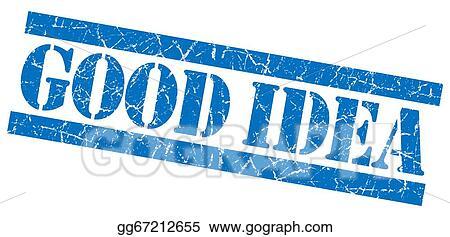 Good idea stamp