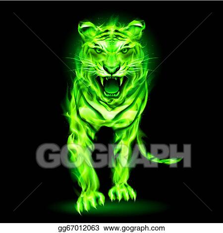 Green Fire Tiger Fire Tiger. Source: ...