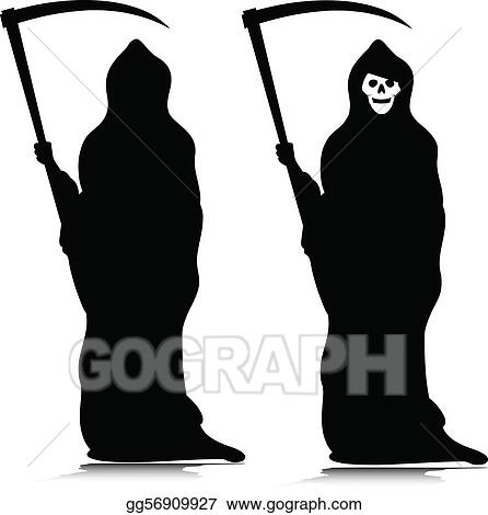 Clip Art Grim Reaper Clipart grim reaper clip art royalty free gograph vector silhouettes