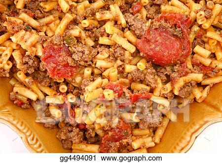 Ground Bison and Cheddar Macaroni