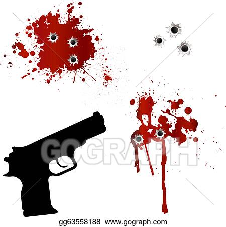 Bullet Hole Clip Art - Royalty Free - GoGraph