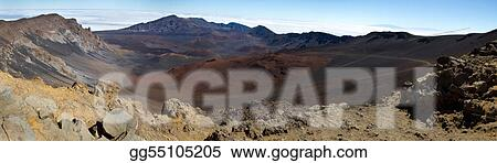 Haleakala Summit Panoramic Image