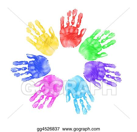 Hands of Children in School