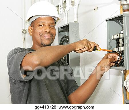 Handsome Electrician