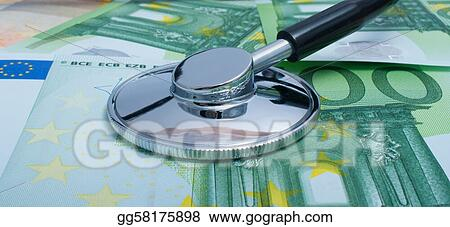 Health cost. Version with euros.