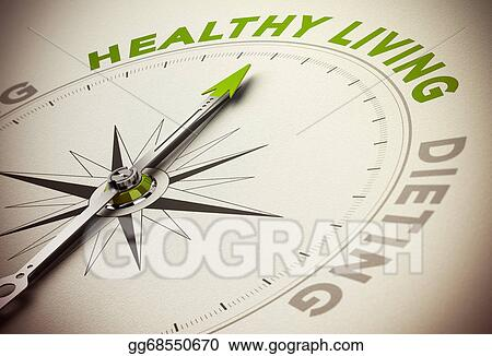 Drawing Healthy Life Style Vs Diet Concept Clipart Drawing Gg68550670 Gograph