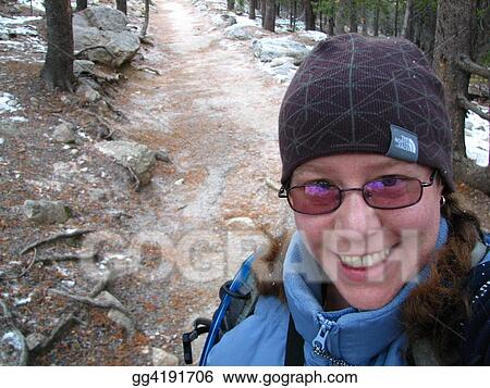 Hiking Self-Portrait