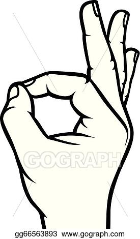 how to draw ok sign
