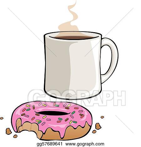 Stock Illustration - Iced Donut with Sprinkles. Stock Art ...