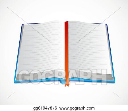 EPS Illustration - Icon of open book. Vector Clipart gg61947876 ...