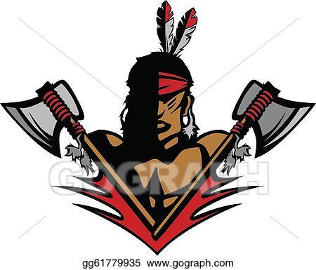 Native American Headdress Clip Art - Royalty Free - GoGraph