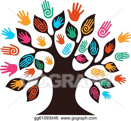 Clip Art Diversity Clipart diversity clip art royalty free gograph isolated tree hands